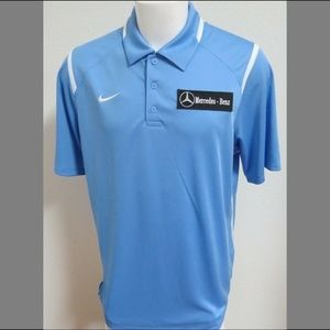 Sz L-3XL Light Blue Nike MENS Polyester #93K Polo